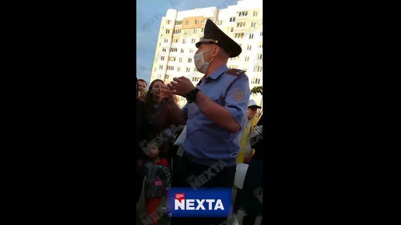 Начальник Боровлянского отдела милиции обратился к протестующим женщинам
