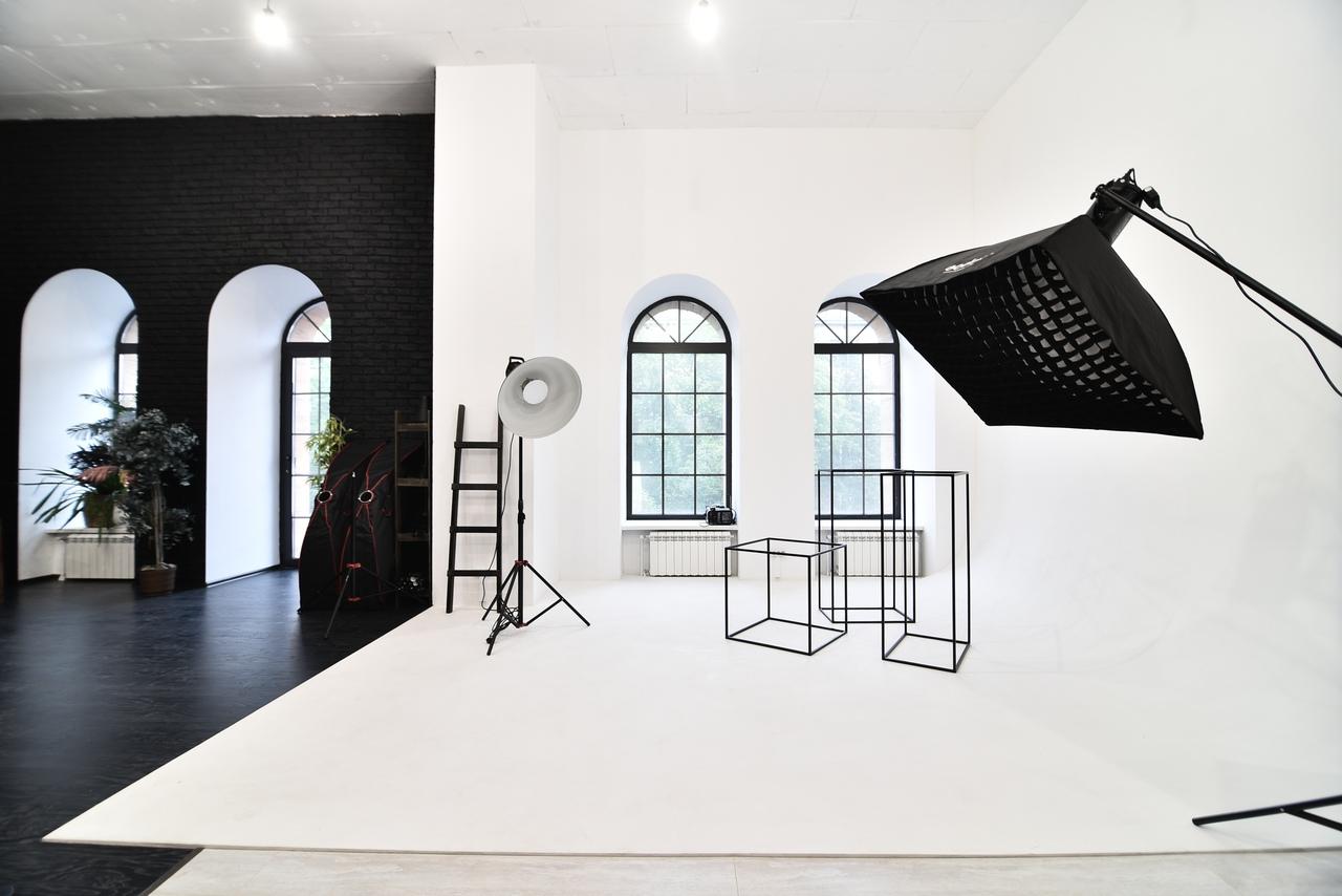фотостудия с кубиками циклорама вариант