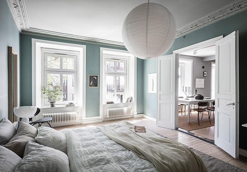 Пастельные стены и светлая мебель: воздушная квартира в Гётеборге    02