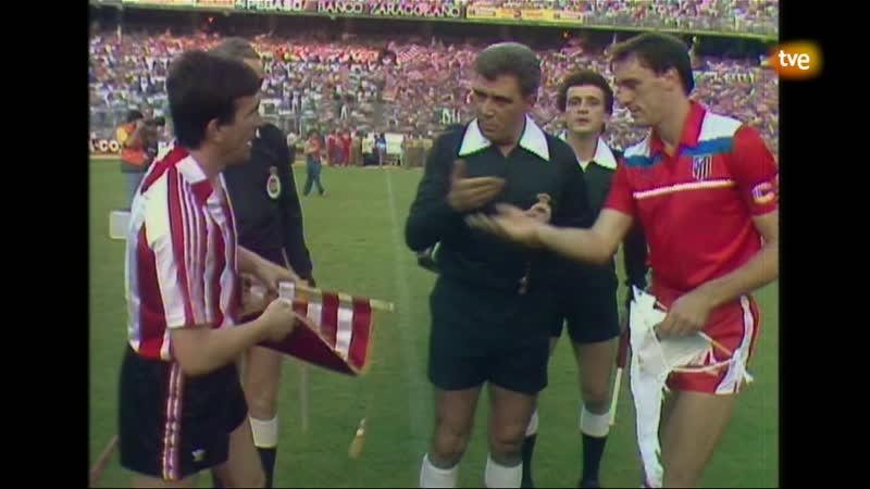 Athletic de Bilbao vs Atletico de Madrid Final Copa del Rey 1985