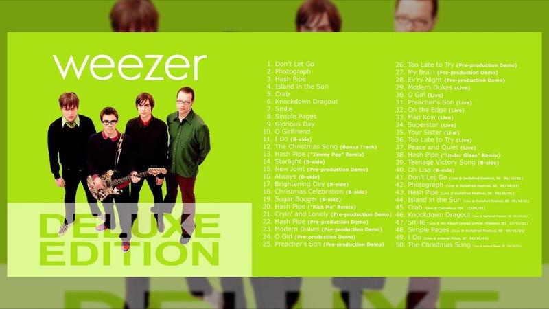 Weezer Weezer Green Album Deluxe Edition Full Fan Album
