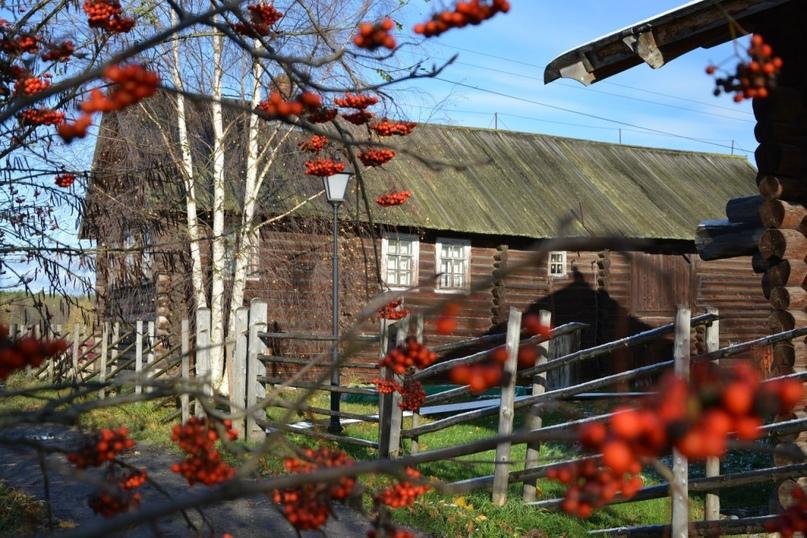Дом старосты Д.Е. Тучина, где скрывались шелтозерские подпольщики