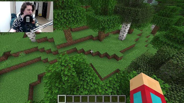 Я построил дом на дереве в майнкрафт