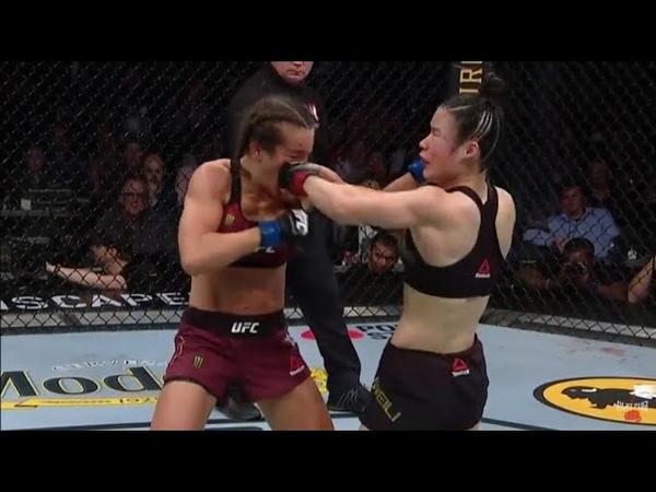 Zhang Weili vs Joanna Jedrzejczyk ( UFC 248 ) - Highlights