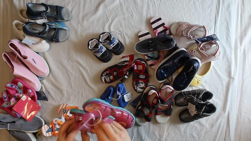 Лот 274 Детская обувь лето сток 5 45 кг
