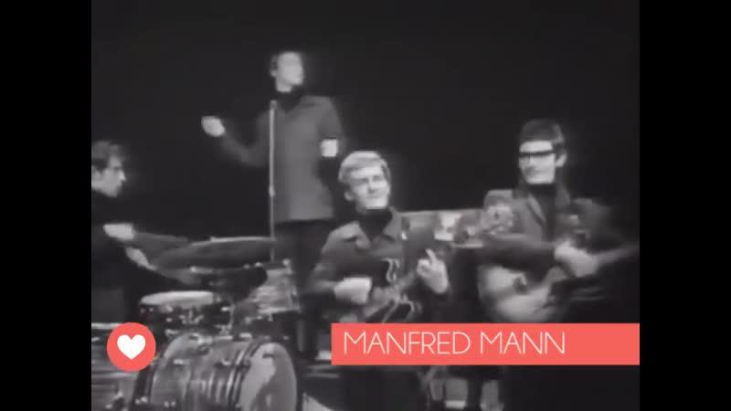 MANFRED MANN С SHA LA LA В 1965 М В МУЗЫКАЛЬНОМ СЕРИАЛЕ SHINDIG