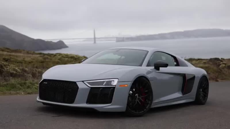 WOW 660HP REAR WHEEL DRIVE 2018 AUDI R8 Mad car mad sound and mad fun 1of