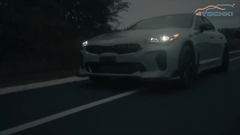Kia Stinger GT на дисках TSW Motorsport на 4 точки Шины и диски 4точки Wheels Tyres
