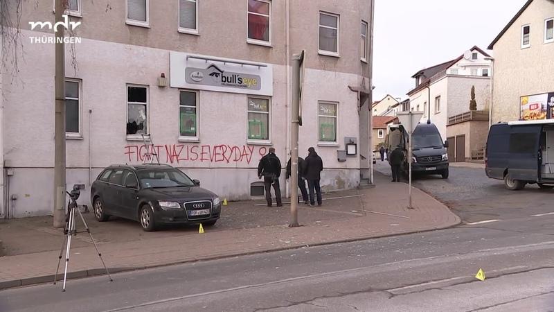 Anschlag auf Szene-Kneipe Rechtsextremer in Eisenach