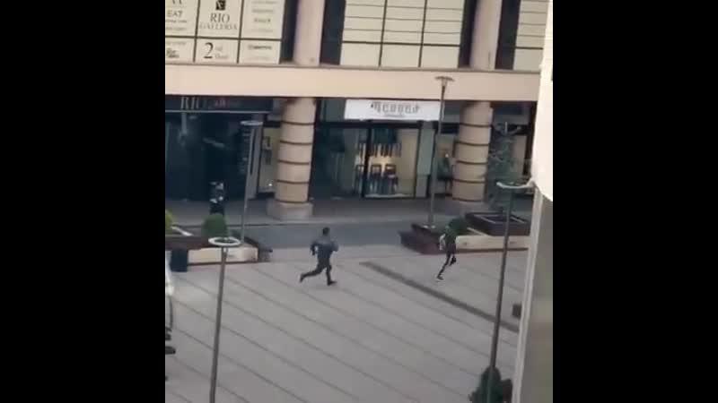 Հյուսիսային պողոտայում ոստիկանները փորձում են բռնել փախչող քաղաքացուն