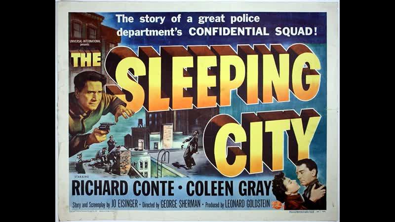 The Sleeping City 1950 Richard Conte Coleen Gray Richard Taber