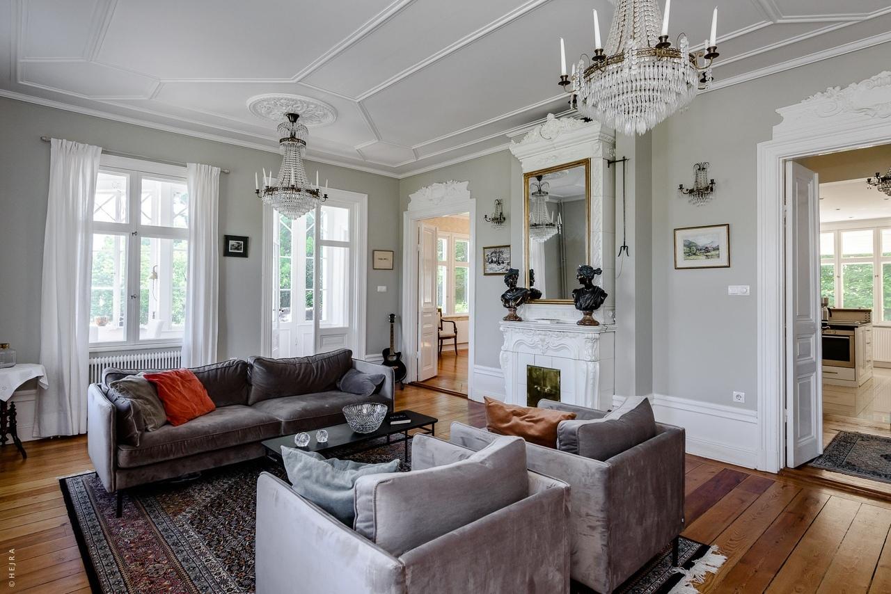 Бывший дом Астрид Линдгрен в Стокгольме