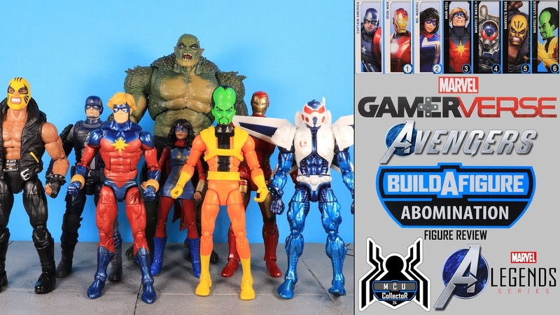 Marvel Legends ABOMINATION BUILD A FIGURE BAF Avengers GamerVerse Wave Figure Review
