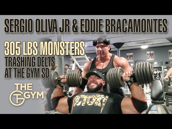 Sergio Oliva Jr. Eddie Bracamontes Train Delts