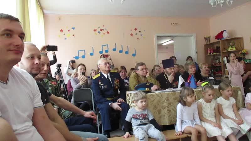 мастер класс в 51 детском саду Спортивно музыкальное развлечение Один день в Армии 6 02 20 0540