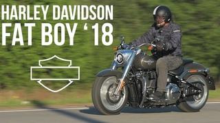 Harley Davidson Fat Boy 2018 #МОТОЗОНА №37